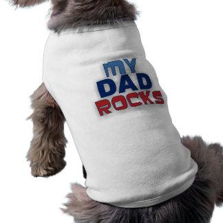 My Dad Rocks Pet T-Shirt
