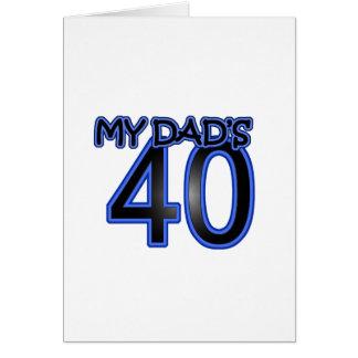 My Dad s 40 Card