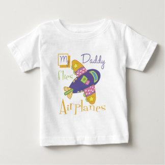 My Daddy Flies Airplanes Tshirts