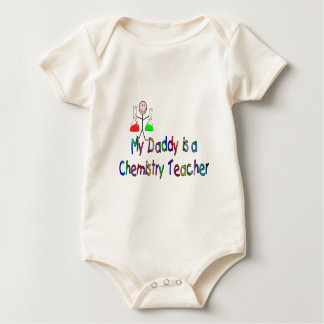 My Daddy is a Chemistry Teacher Baby Bodysuit