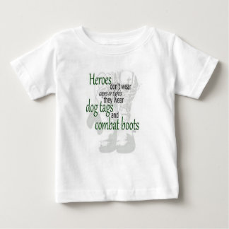 My daddy is a hero baby T-Shirt