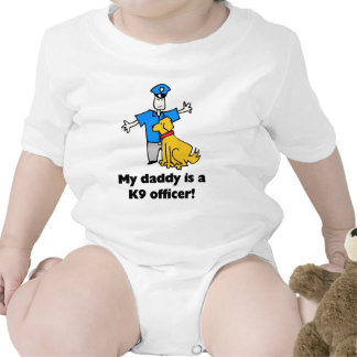 My daddy is a K9 officer T-shirt