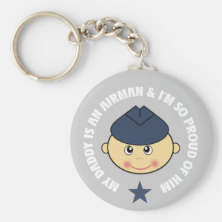 My Daddy is an Airman Key Ring