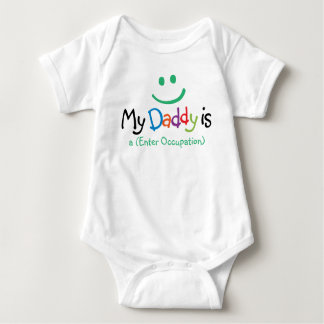 """My Daddy is..."" Baby Clothes Baby Bodysuit"