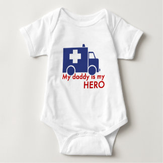 My Daddy Is My Hero Baby Bodysuit