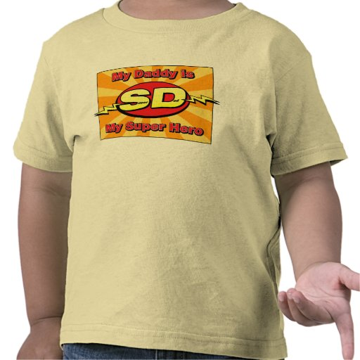 My Daddy is My Super Hero T-shirt