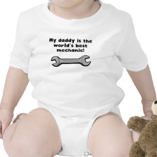 My Daddy Is The Word s Best Mechanic Bodysuits
