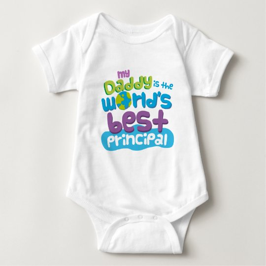 My Daddy is the Worlds Best Principal t-shirt