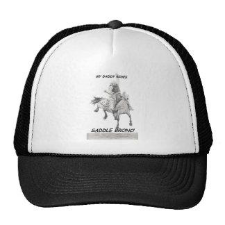 My Daddy Rides Saddle bronc Mesh Hats
