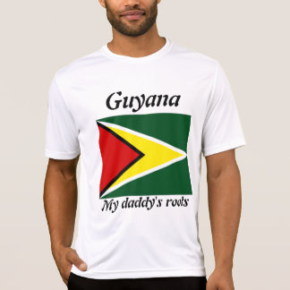 My daddy's roots guyana mens t-shirts