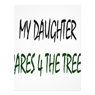 My Daughter Cares 4 The Trees Flyer