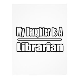 My Daughter Is A Librarian 21.5 Cm X 28 Cm Flyer
