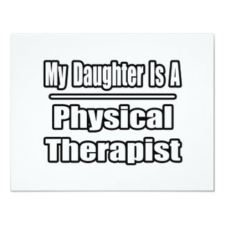 My Daughter Is A Physical Therapist Announcement