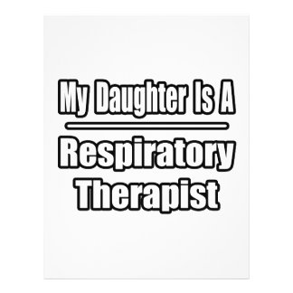 My Daughter Is A Respiratory Therapist 21.5 Cm X 28 Cm Flyer