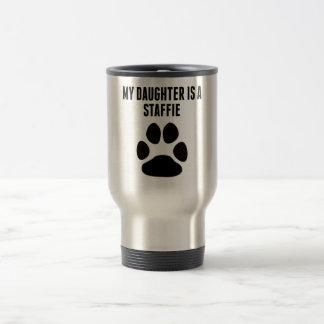 My Daughter Is A Staffie Coffee Mug