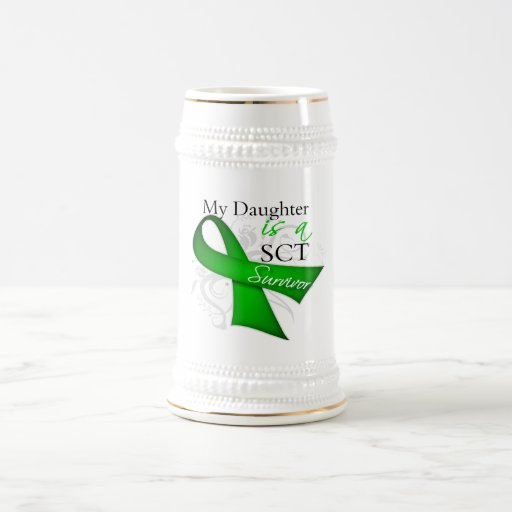 My Daughter is a Stem Cell Transplant Survivor Coffee Mugs