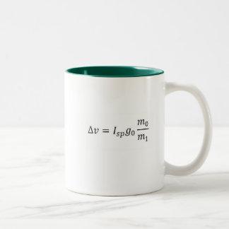 My daughter is an aerospace engineer... Two-Tone coffee mug
