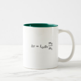 My daughter is an aerospace engineer... Two-Tone mug