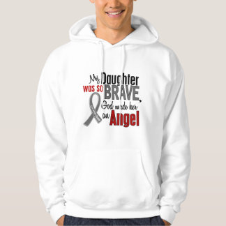 My Daughter Is An Angel 1 Brain Cancer Hoodie