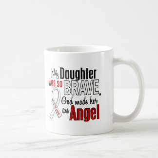 My Daughter Is An Angel Lung Cancer Mugs