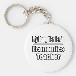 My Daughter Is An Economics Teacher Keychain