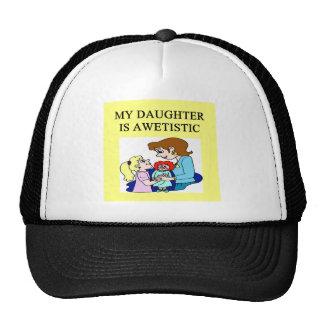 my daughter is autistic cap