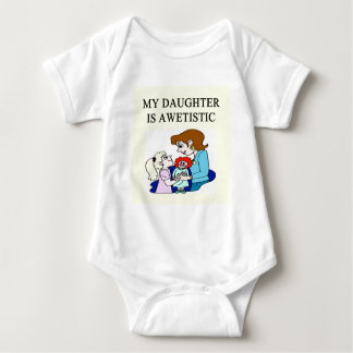 my daughter is autistic tee shirt