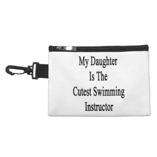 My Daughter Is The Cutest Swimming Instructor Accessories Bag