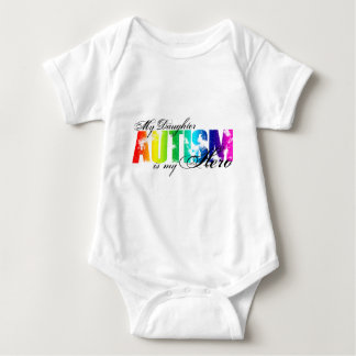 My Daughter My Hero - Autism Baby Bodysuit
