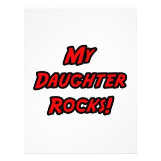 My Daughter Rocks Full Color Flyer