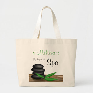 """""""My day at the Spa"""" personalised Jumbo Tote Bag"""
