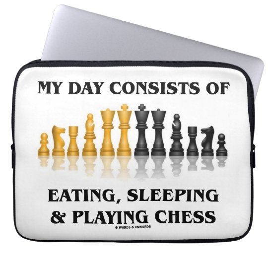 My Day Consists Of Eating, Sleeping Playing Chess