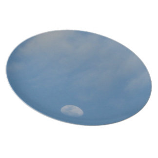 My Daytime Moon - Decorative Melamine Plate