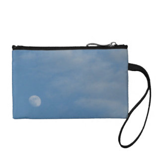 My Daytime Moon - Key Coin Clutch Bag