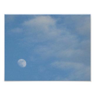 My Daytime Moon - Kodak Pro Photo Print