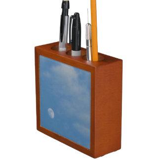 My Daytime Moon - Mahogany Wood Organiser