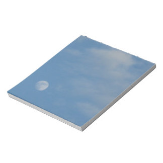 My Daytime Moon Notepad Memo FSC Certified Paper