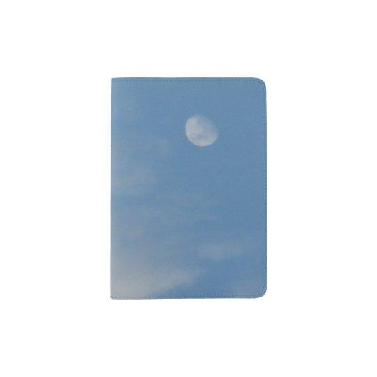 My Daytime Moon Passport Holder - Sturdy &