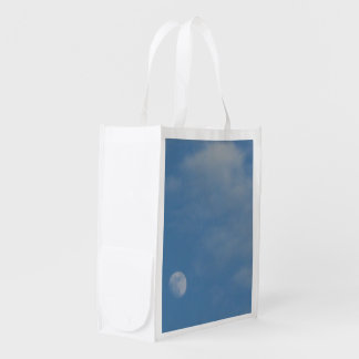 My Daytime Moon - Re Usable Lightweight Polyester Reusable Grocery Bag