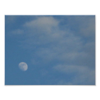 My Daytime Moon - Value Poster Paper Matte