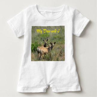 My Deer and I Baby Romper Baby Bodysuit