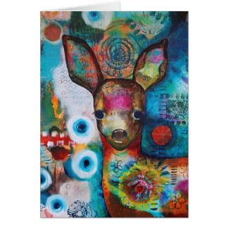 """My Deer"" Birthday Card"