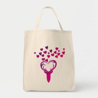 My Deer Heart Shopping Bag