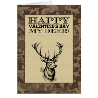 My Deer Valentine s Day Greeting Cards