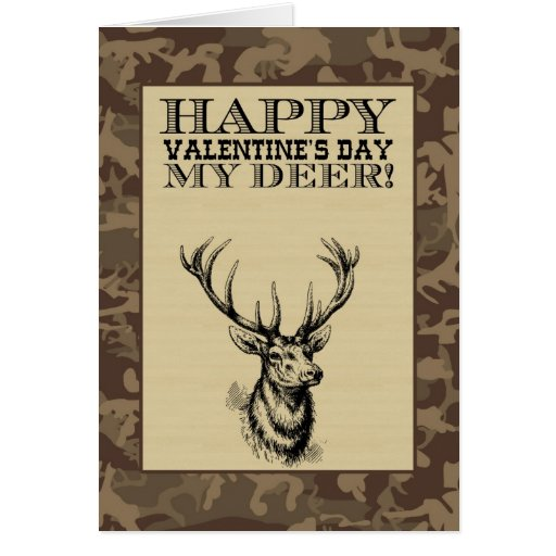 My Deer | Valentine's Day Greeting Cards