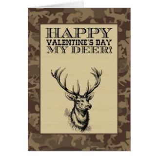 My Deer | Valentine's Day Note Card