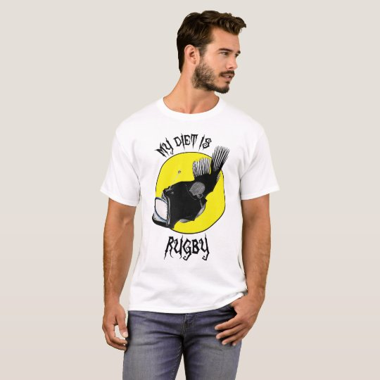 My Diet Is Rugby - T-Shirt