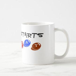 My diet starts Monday Coffee Mug