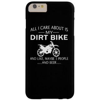 My DIRTBIKE and BEER Barely There iPhone 6 Plus Case