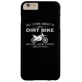 MY DIRTBIKE and DOGs Barely There iPhone 6 Plus Case